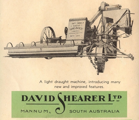 D Shearer Model-P-Harvester